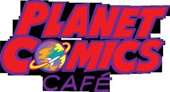 Planet Comics Café Logo