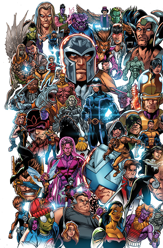 X-Men 1 Panorama Variant