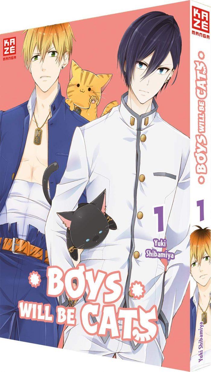 Boys will be Cats Band 1 Kaze Manga Deutsche Ausgabe